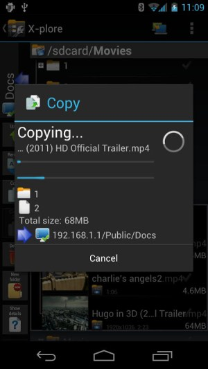 X-plore File Manager 3.89.00 Screen 8