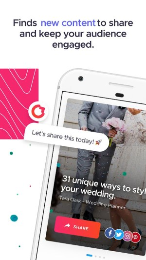 Android Crowdfire: Your Smart Marketer Screen 3