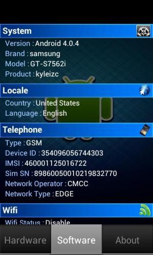 Device Check 1.0.2 Screen 1