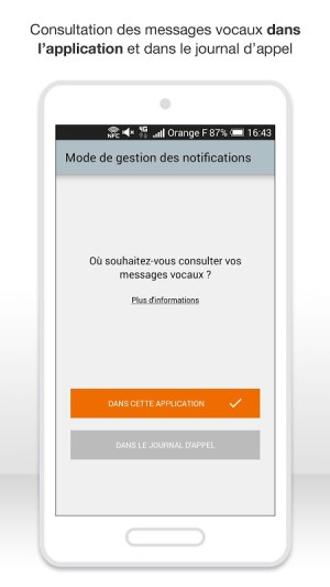 Android Messagerie vocale visuelle Screen 6