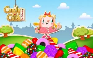 Android Candy Crush Saga Screen 1