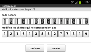 Android Ticket Orange Screen 1
