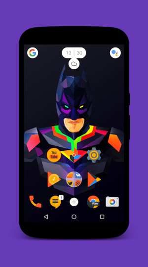 Android Nougat for Zooper Screen 7
