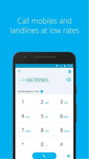 Android Skype - free IM & video calls Screen 6