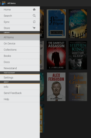 Android Kindle Screen 5