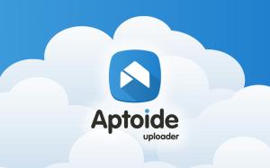 Android Aptoide Uploader Screen 1