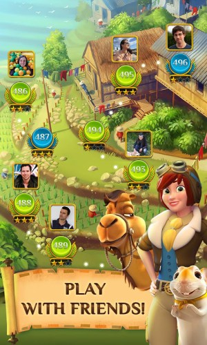 Android Pyramid Solitaire Saga Screen 15