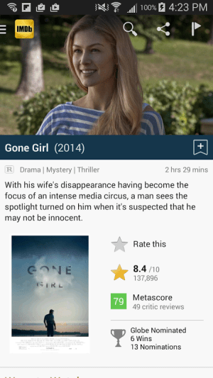 Android IMDb Movies & TV Screen 5