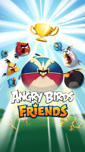 Android Angry Birds Friends Screen 1