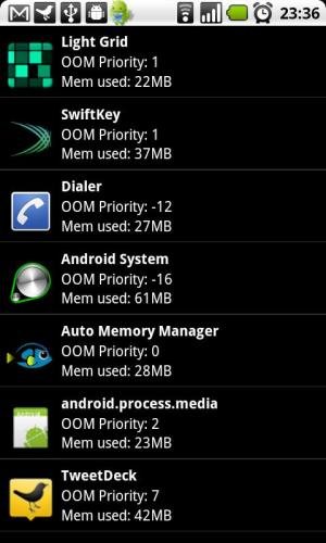 Android Auto Memory Manager Premium Screen 5