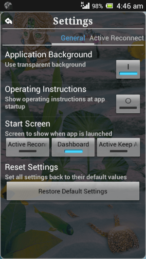 Connection Stabilizer Booster 1.9.4 Screen 10