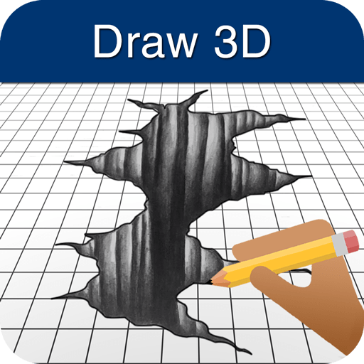 How to Draw 3D 3.4.4c icon