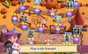 Android Bubble Witch 2 Saga Screen 8
