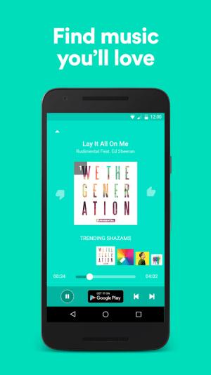Android Shazam Screen 5