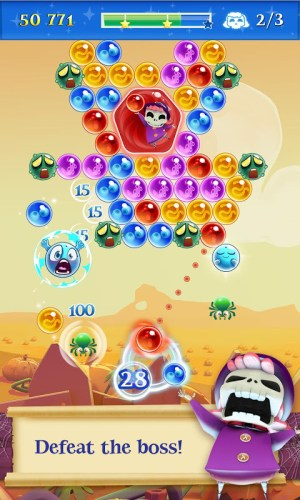 Android Bubble Witch 2 Saga Screen 16