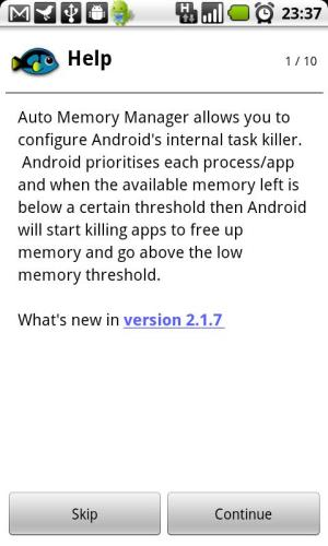 Android Auto Memory Manager Premium Screen 6