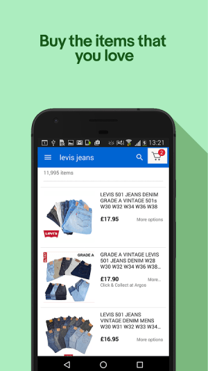 Android eBay - Buy, Sell & Save Money Screen 7