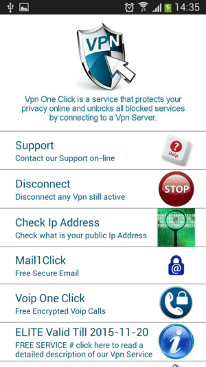 Android Vpn One Click Screen 7