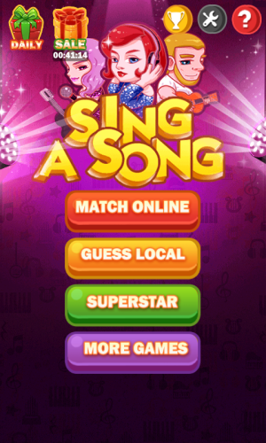 Android Sing A Song Screen 1