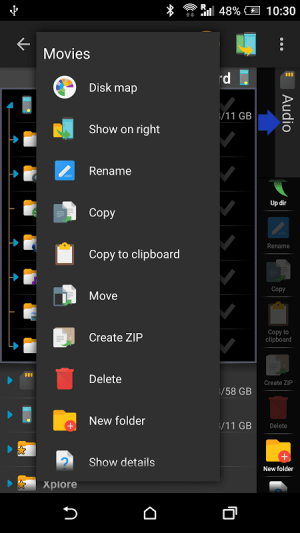 X-plore File Manager 3.92.06 Screen 6