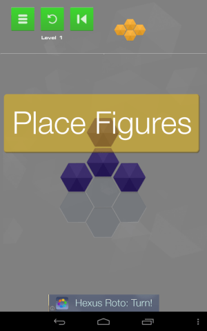 Android Hexus Puzzles Screen 2
