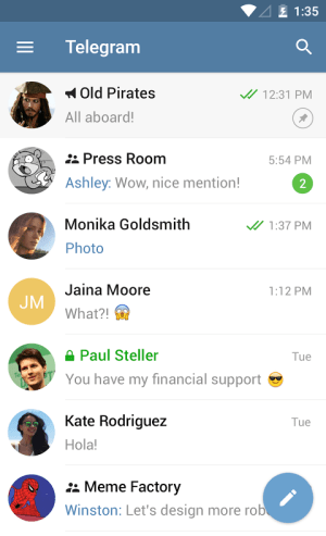 Telegram 4.0.0 Screen 13