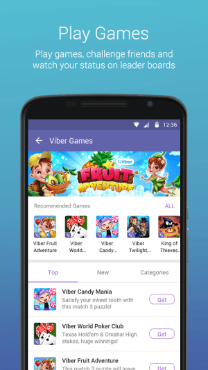 Android Viber Messenger Screen 9