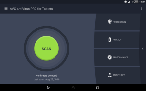 Android AntiVirus PRO Android Security Screen 7