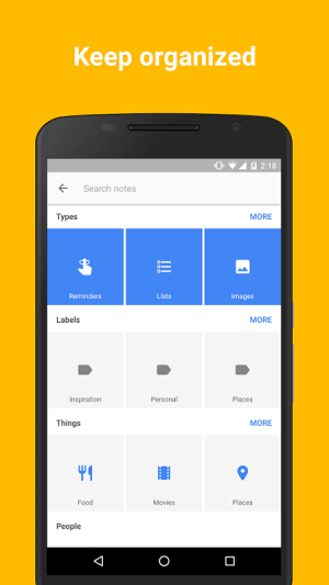 Google Keep - notes and lists 3.4.491.02.40 Screen 5