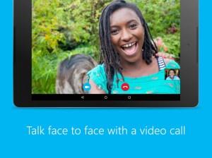Android Skype - free IM & video calls Screen 1