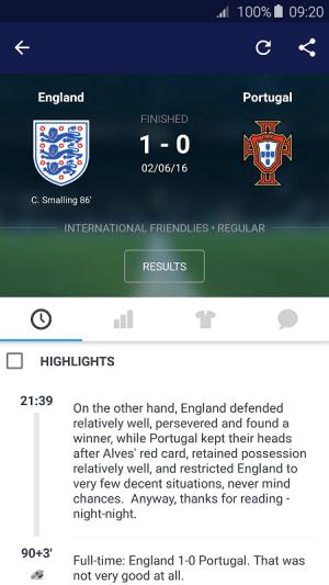 Android Eurosport Screen 12