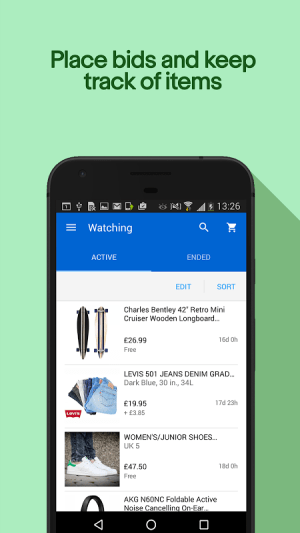 Android eBay - Buy, Sell & Save Money Screen 5