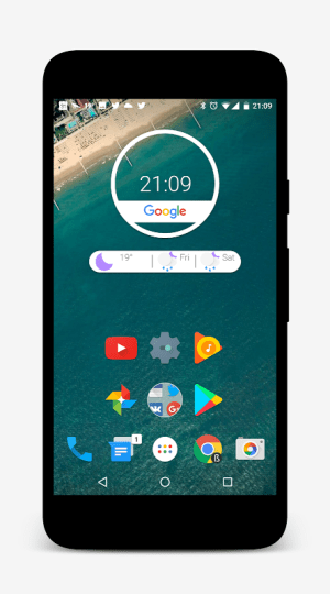 Android Nougat for Zooper Screen 2