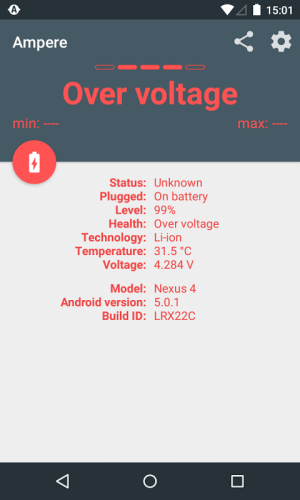 Android Ampere Screen 7