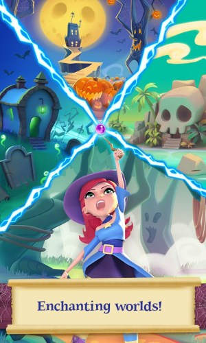 Android Bubble Witch 2 Saga Screen 15