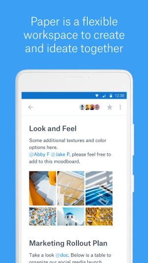 Android Dropbox Paper Screen 4
