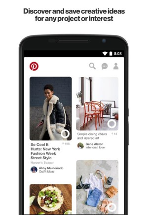 Android Pinterest Screen 7