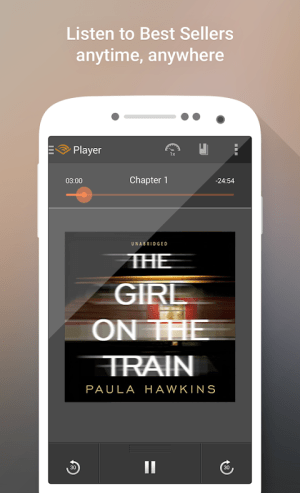 Android Audiobooks from Audible Screen 3