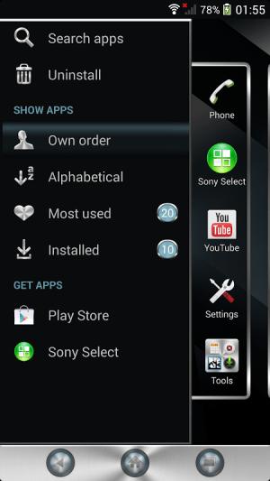 Xperia™ theme - Reality 1.0.0 Screen 6