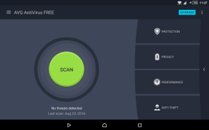 Android AVG AntiVirus FREE for Android Screen 7