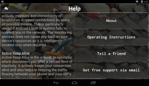 Connection Stabilizer Booster 1.8.1 Screen 3