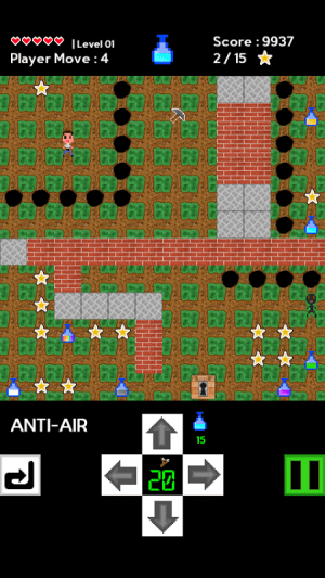 Android World of Potion Screen 1