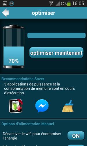 Battery Saver Pro 1.0 Screen 5