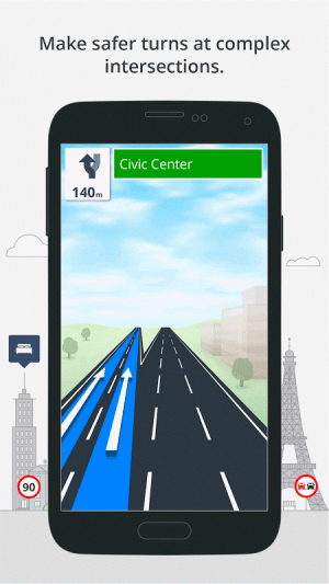 Android GPS Navigation & Maps Sygic Screen 11