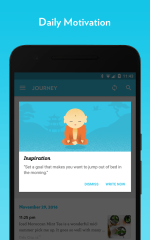 Android Journey - Diary, Journal Screen 8