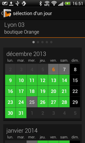 Android Mes Boutiques Screen 7