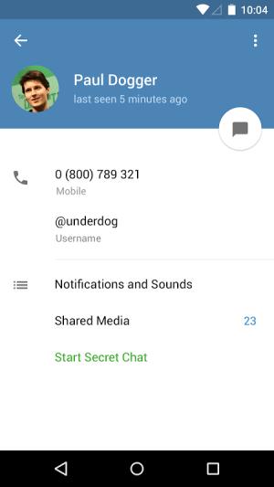 Telegram 3.16.1 Screen 2