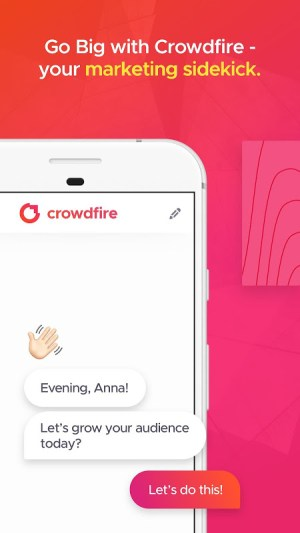 Android Crowdfire: Your Smart Marketer Screen 4