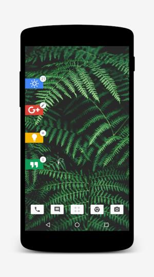 Nougat for Zooper 1.2.0 Screen 8