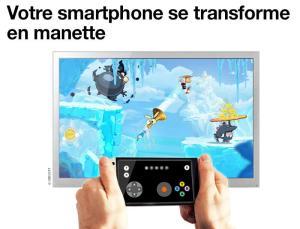 Android Manette TV d'Orange Screen 1
